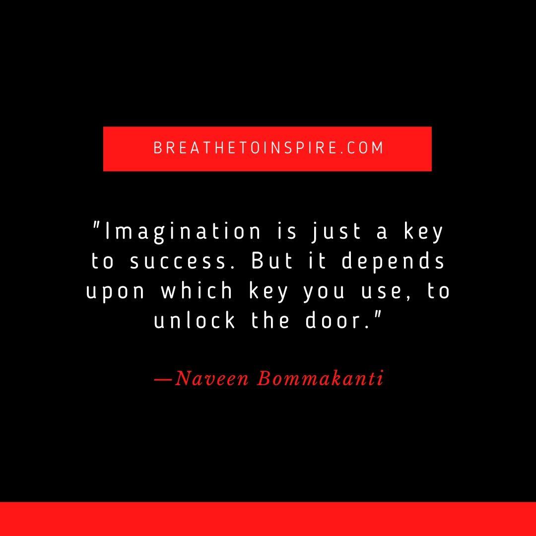 success quotes naveen bommakanti