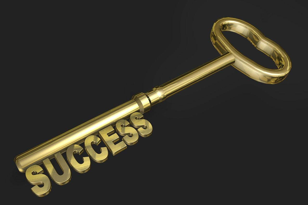 There is no such term called Success-Thoughts about success with an inspirational message.