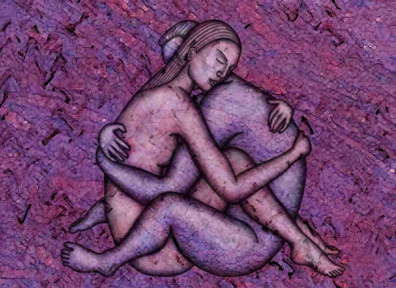 Conscious love: The intersection of two destined souls.