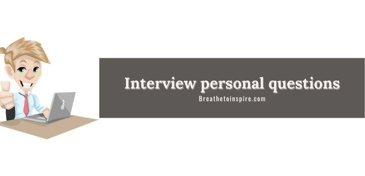 interview-personal-questions