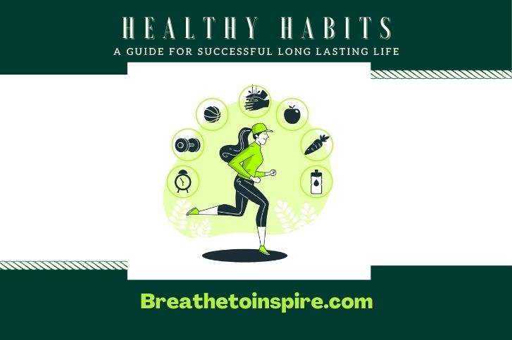 Healthy Habits: A simple lifestyle guide for successful, good, and healthy living