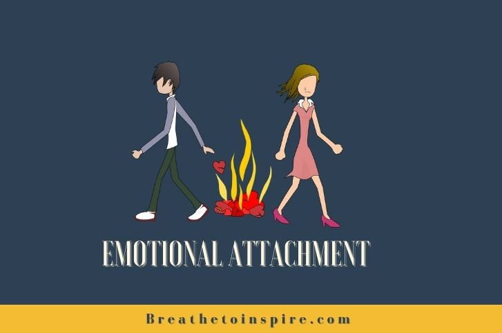 How to stop being emotionally attached to someone?