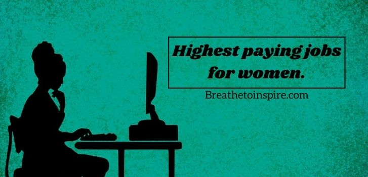 Highest-paying-jobs-for-women