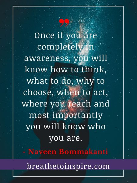 complete awareness quote